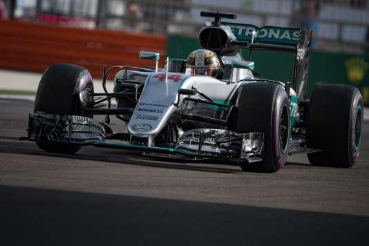 Lewis Hamilton a obtenu la pole position, samedi 26 novembre.