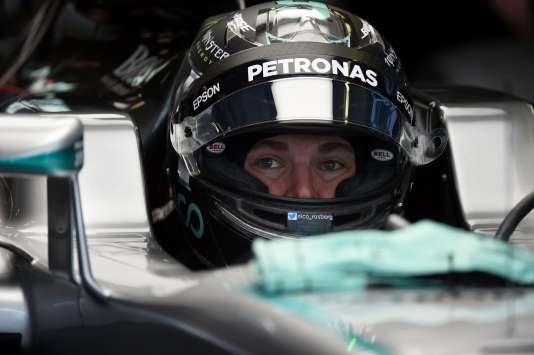 Nico Rosberg au volant de sa Mercedes, le 26novembre 2016.