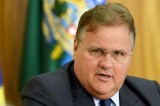 Geddel Vieira Lima, ministre chargé des relations institutionnelles, en mai, à Brasilia.