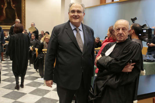 Paul Giacobbi, au tribunal de Bastia, le 21 novembre.