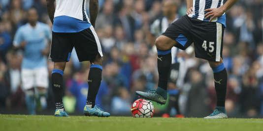 Match du championnat anglais Manchester City contre Newcastle United, en 2015.