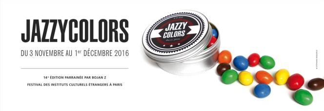 Affiche du festival Jazzycolors.