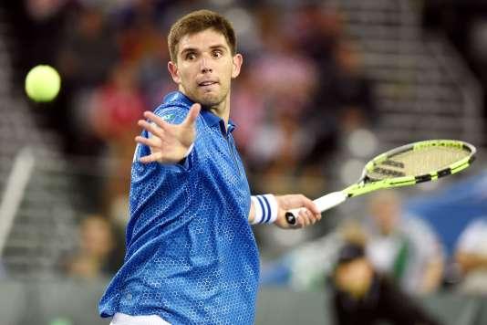 Federico Delbonis a apporté le point décisif aux Argentins, dimanche 27 novembre, face à la Croatie.