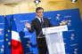 François Fillon, après la clôture du vote du second tour de la primaire de la droite et du centre, à la Maison de la chimie à Paris, dimanche 27 novembre.