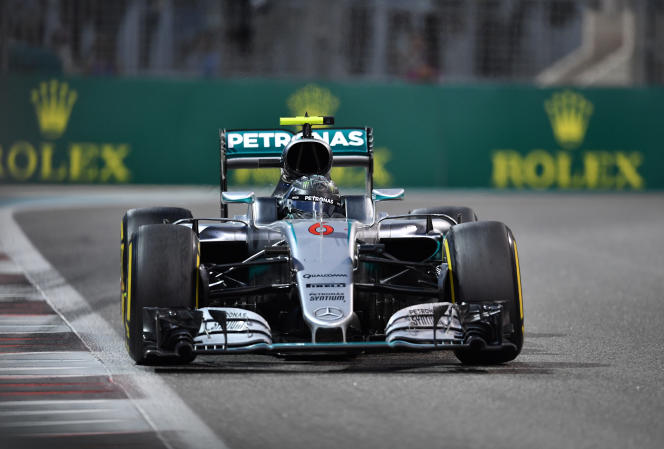 Nico Rosberg, dimanche 27 novembre à Abou Dhabi.