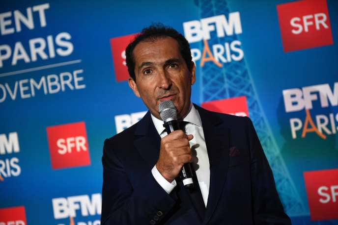Patrick Drahi, à Paris, en novembre 2016.