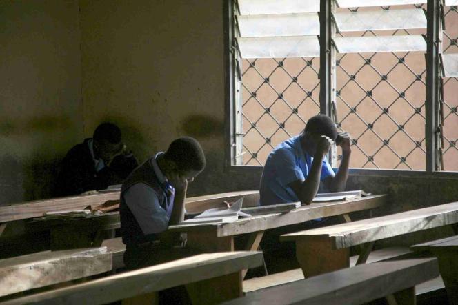 Au lycée Mankon de Bamenda, le chef-lieu de la région anglophone du Nord-Ouest, au Cameroun.