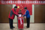 Un bureau de vote à Pékin, le 15 novembre 2016.