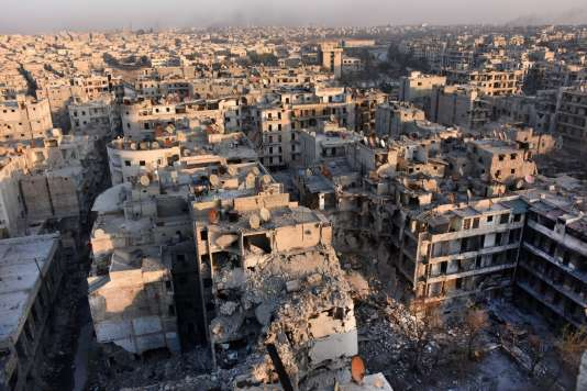Alep, le 28 novembre 2016.