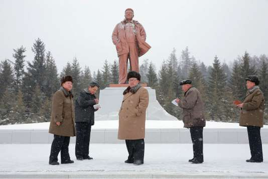 Le dirigeant nord-coréen Kim Jong-un. (Photo non datée de la Korean Central News Agency.)