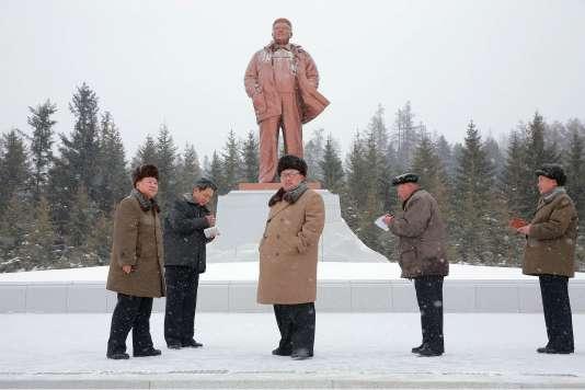Le dirigeant nord-coréen Kim Jong-un. (Photo non datée de la Korean Central News Agency.)