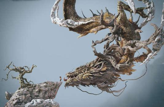 Une œuvre numérique réalisée avec le logiciel clermontois Substance, par l'artiste numérique chinois Zhelong Xu.