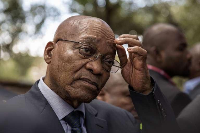 Le président sud-africain, Jacob Zuma, le 15 novembre à Johannesburg.