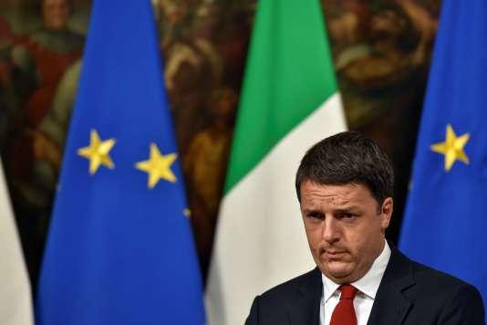 Matteo Renzi, le 28 novembre 2016.