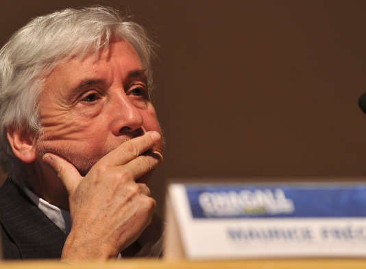Maurice Fréchuret en 2010.
