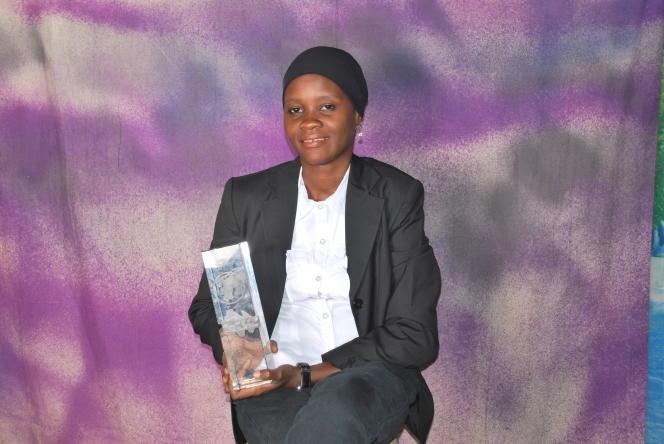 L'élève ingénieure Mariama Mamane en 2016.