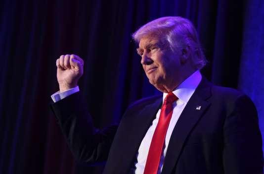 Donald Trump, le 8 novembre à New York.