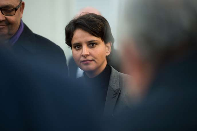 L'ancienne ministre de l'éducation nationale, Najat Vallaud-Belkacem, le 28 novembre 2016.