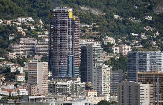 La tour Odéon, à Monaco en septembre 2013.