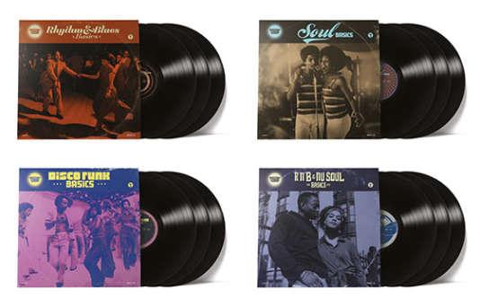 «Rhythm &Soul Basics», 4 compilations de divers artistes.