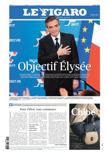 Pour « Le Figaro», le vainqueur de la primaire de la droite doit maintenant se concentrer sur la bataille présidentielle de 2017.