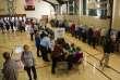 A Cedarburg dans leWisconsin, lors de l'élection présidentielle du 8 novembre.