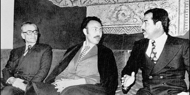 Houari Boumédiène à Alger en 1975.