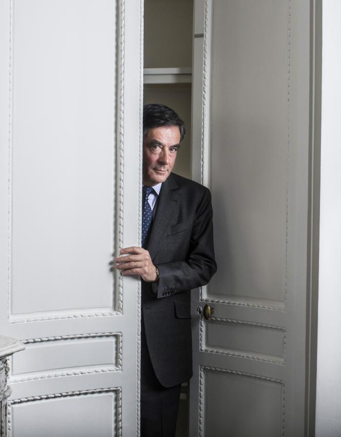 Dans son bureau de l'Assemblée nationale, en janvier 2015.