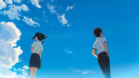 «Kimi no Na wa» (attendu en France sous le titre «Your Name») suit le parcours d'un garçon et d'une fille échangeant leurs vies et leurs corps.