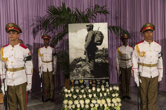 Le mémorial en hommage à Fidel Castro à la Havane (Cuba) le 28 novembre.