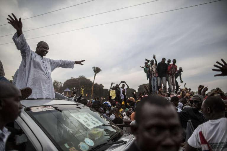 Adama Barrow, le 29 novembre.