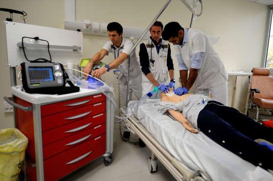 Au centre hospitalier Annecy Genevois, en novembre.