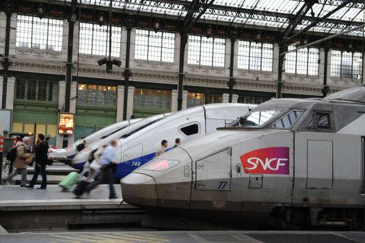 Gare de Lyon, à Paris, en octobre 2011.