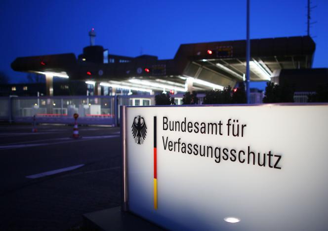 Le siège de l'Office de protection de la Constitution, responsable du renseignement intérieur en Allemagne, à Cologne.