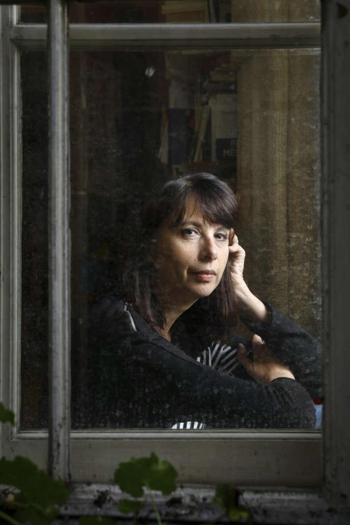Nathalie Quintane, en octobre 2016.
