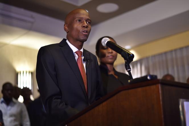 Jovenel Moïse, le 28 novembre à Port-au-Prince.