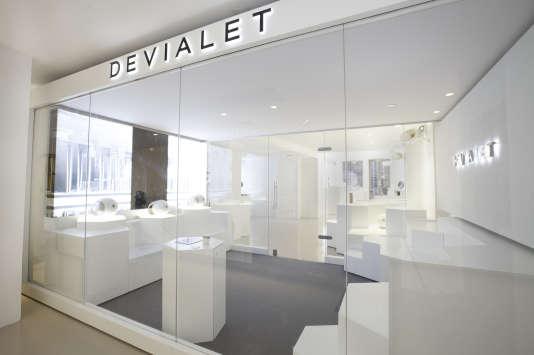 Devialet a ouvert sa première boutique à New York à la mi-novembre.