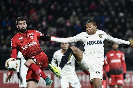 Lors du match opposant Monaco et Dijon, le 29 novembre.