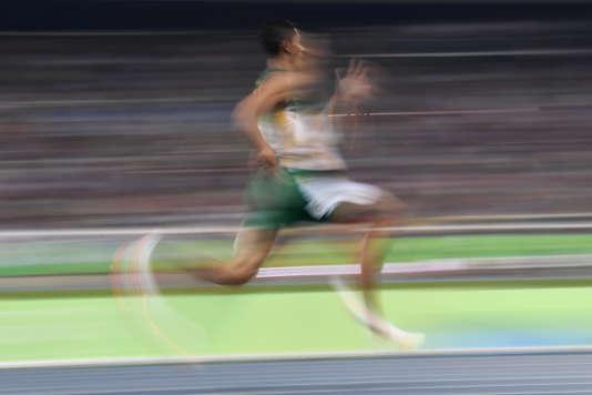 Le Sud-Africain Wayde van Niekerk, le 14 août à Rio.