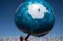 Devant les locaux de la conférence des Nations unies sur le changement climatique (COP22), à Marrakech, le 18 novembre.