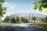 A deux kilomètres de Cambridge, un énorme chantier est en cours pour construire son futur siège, qui recevra 2 500 personnes, essentiellement des chercheurs et des laboratoires.