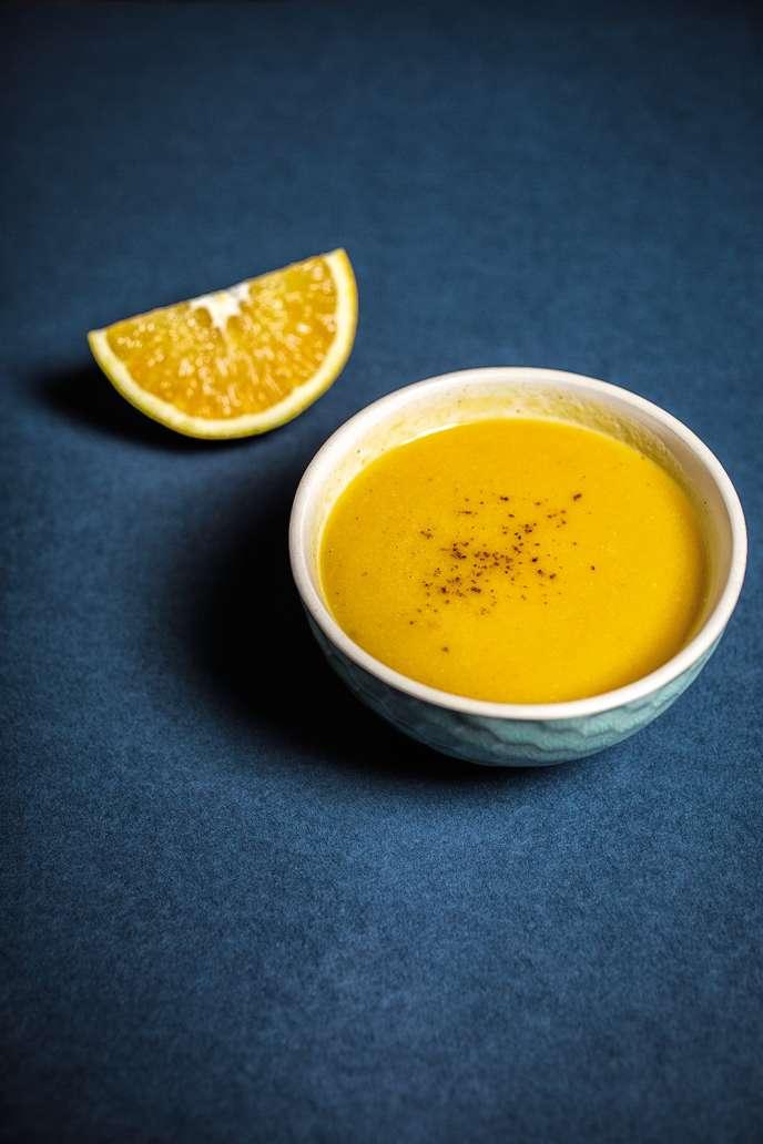 La soupe au butternut de Laure Watrin.