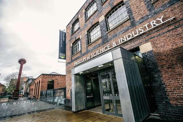 Non loin du quartier rénové de Castlefield, le Musée des sciences et de l'industrie.