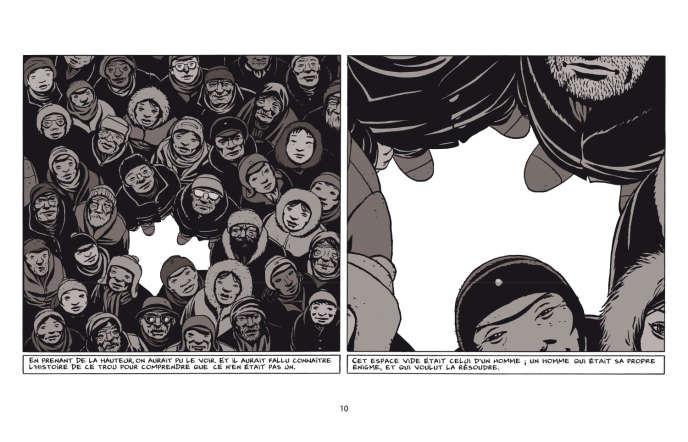« Otto. L'homme réécrit», de Marc-Antoine Mathieu.
