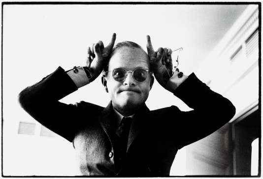 Portrait de Truman Capote en mars 1968.