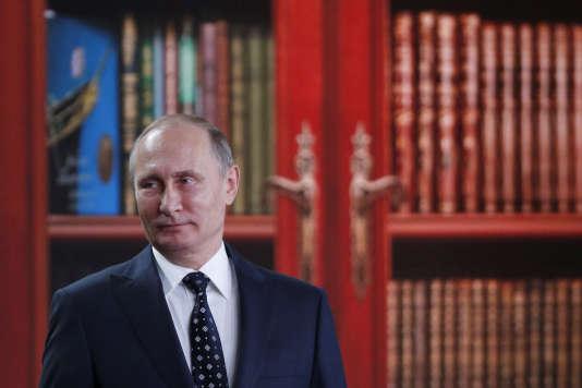 Le président russe, Vladimir Poutine, en novembre.