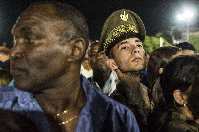 Place de la Révolution, dans la capitale cubaine.