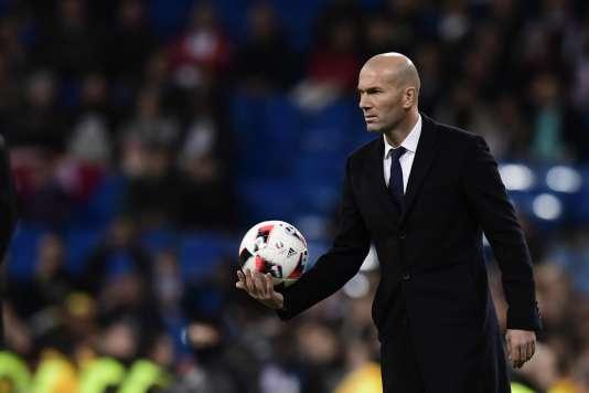 Zinédine Zidane, le 30 novembre à Madrid.
