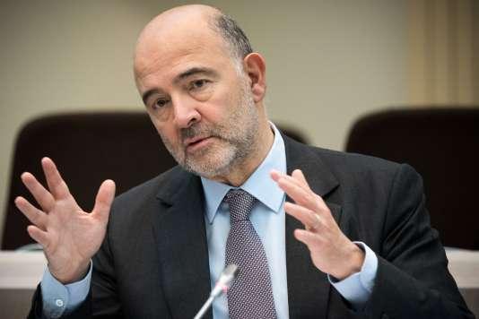 Pierre Moscovici, le 30 novembre à Bruxelles.