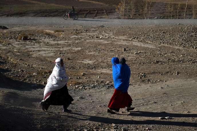 Dans la province de Bamiyan, au début de novembre.